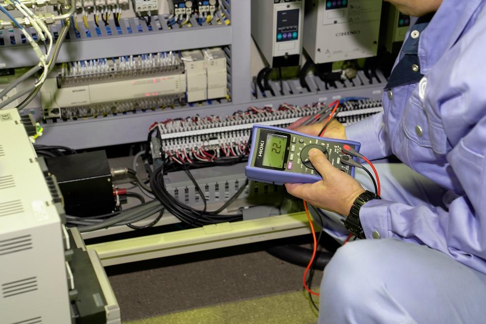 電気回路系統の点検