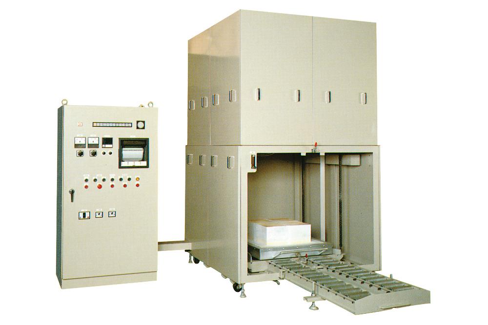 大型エレベーター式電気炉HPF