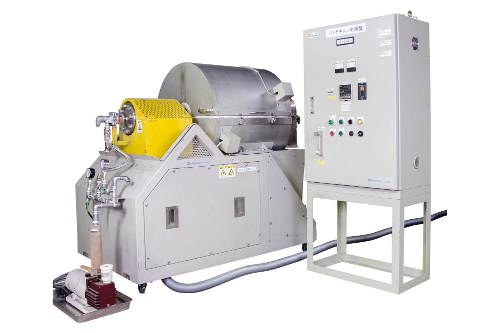 バッチ式ロータリーチューブ炉B-RTF