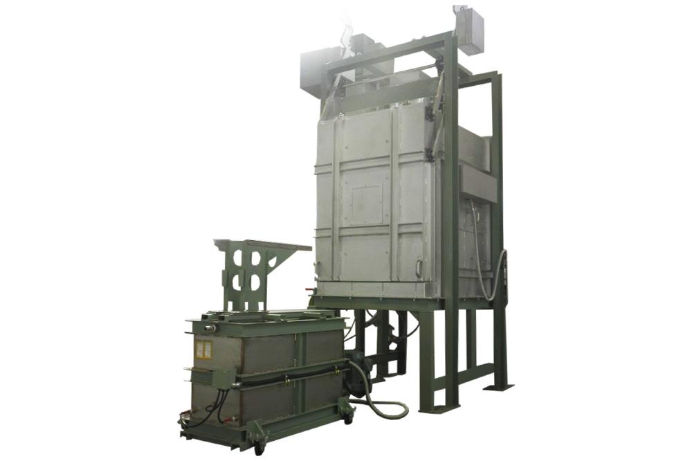 熱処理炉電気式